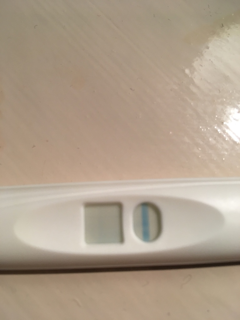 Digital Clearblue test Positive, then negative next day