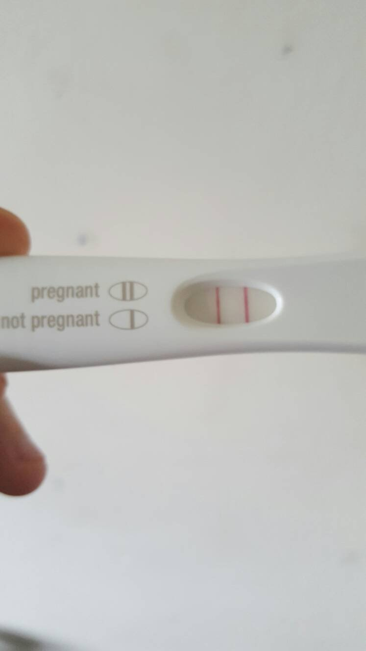 10dpo on my first month ttc  BFP?! | Netmums