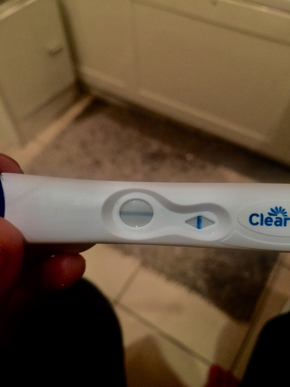 Faint Positive On 6 Cb Pregnancy Tests And One Negative On Fr